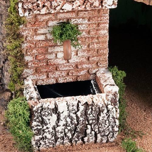 STOCK - Grotta per presepe e borgo 2 livelli 60X40X50 4