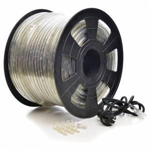 Guirlande électrique tube à leds blancs 100 m s1
