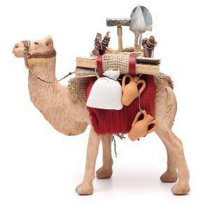 Harnessed camel for Neapolitan nativity 14cm s1