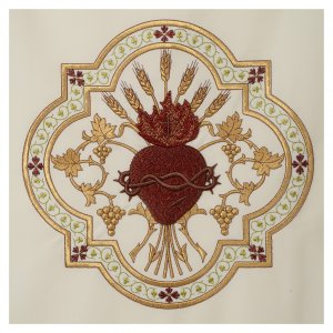 Heart of Jesus thorn-crowned pulpit cover s3