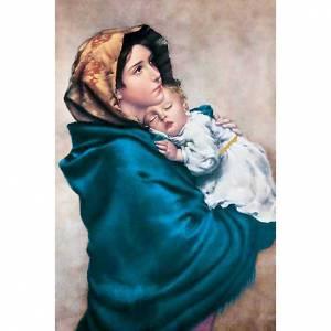 Heiligenbildchen: Heiligenbildchen Madonna von der Straße