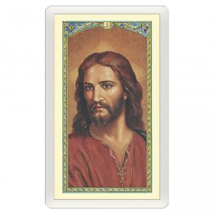 Holy cards: Holy card, Christ, Elderly's Prayer ITA 10x5 cm