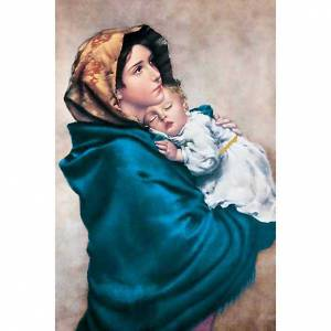 Holy card, Ferruzzi's Madonna s1