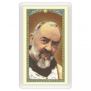 Holy cards: Holy card, Padre Pio, Prayer of Saint Pio ITA 10x5 cm