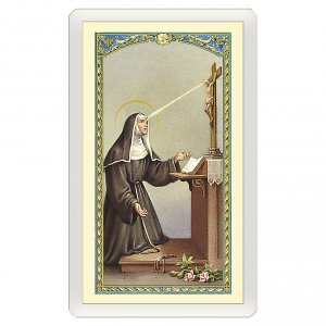 Holy cards: Holy card, Saint Rita of Cascia, Prayer to Saint Rita ITA 10x5 cm