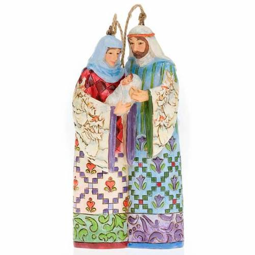 Holy Family hanging decoration - Jim Shore s1