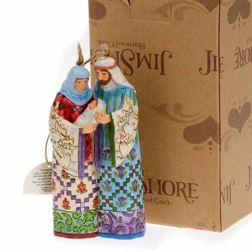 Holy Family hanging decoration - Jim Shore 5