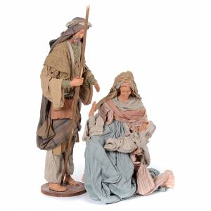 Nativity sets: Holy family in country style 85 cm in resin