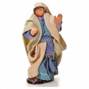 Belén napolitano: Hombre caminando 6 cm pesebre napolitano