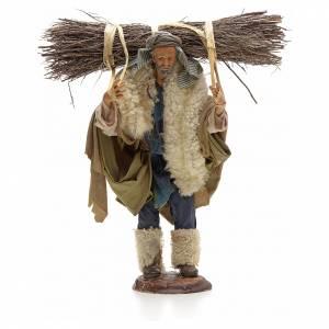 Homme au fagot crèche Napolitaine 30 cm s1