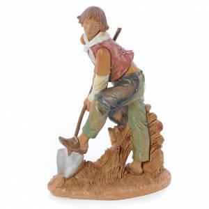 Homme avec bêche crèche Fontanini 30 cm s2