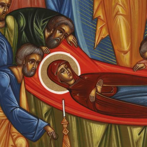 Icon of the Dormition of Mary s3