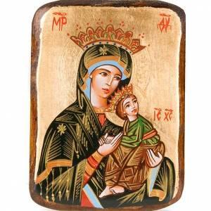 Icone Romania dipinte: Icona Madre Dio Passione dipinta Romania