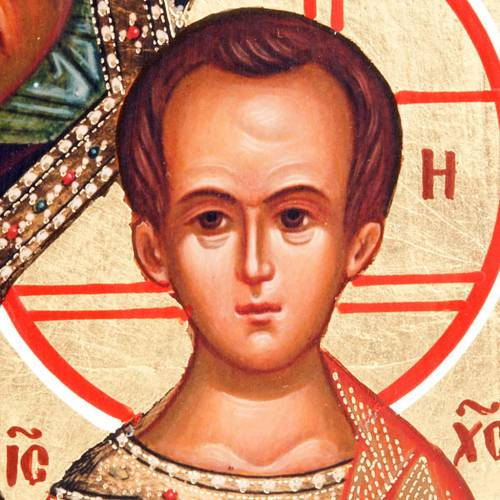 Icona russa Vergine di Kazan 2
