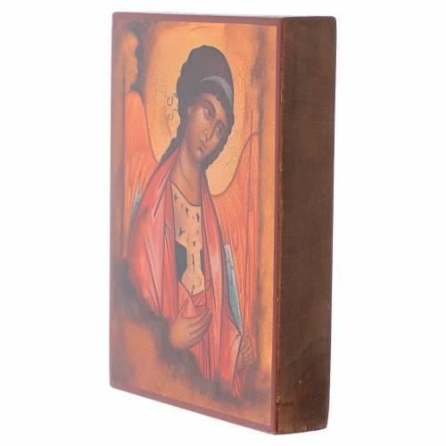 Icône Russe peinte Saint Michel Archange Rublev s2
