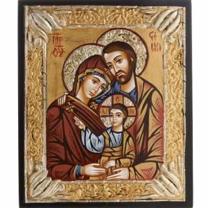 Icône Sainte Famille, peinte s1