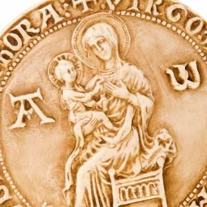 Bas reliefs en pierre: Icône Vierge avec enfant