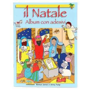 Libri per bambini e ragazzi: Il Natale. Album con adesivi