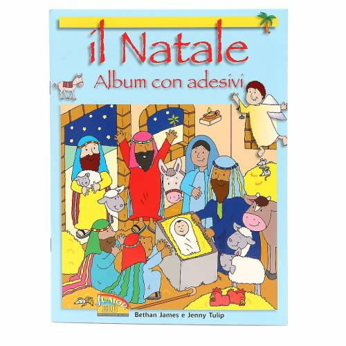 Il Natale. Album con adesivi s1