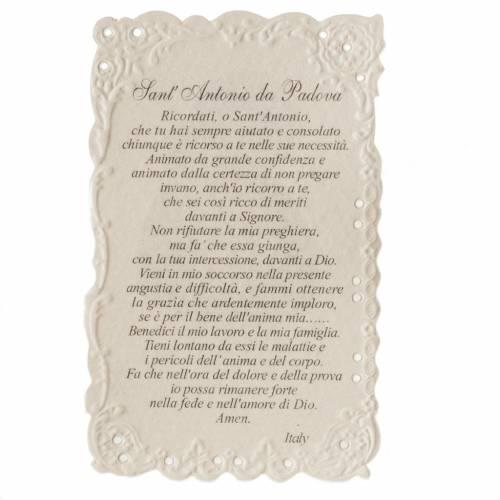 Image pieuse St Antoine avec prière s2