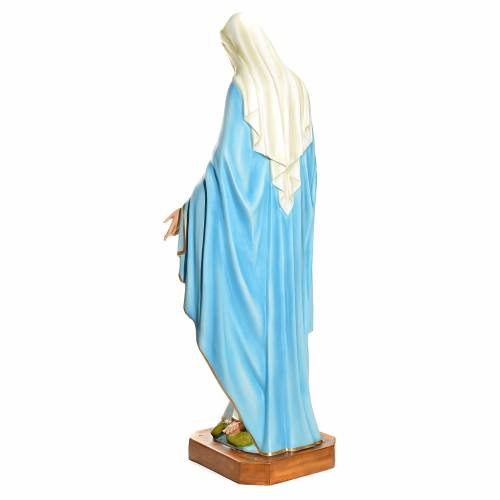 Immaculate Virgin Mary statue 145cm in fiberglass s4
