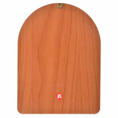 Impression sur bois 15x20 cm Ange gardien s2