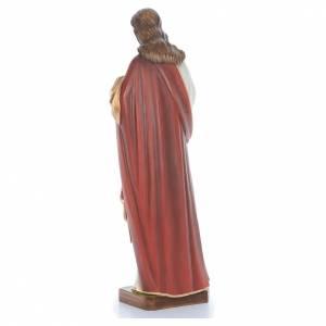 Jésus Bénissant fibre de verre peint 100cm s4