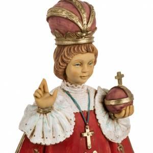 Statues en résine et PVC: Jésus enfant de Prague 50 cm résine Fontanini