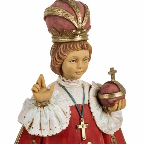 Jésus enfant de Prague 50 cm résine Fontanini s2
