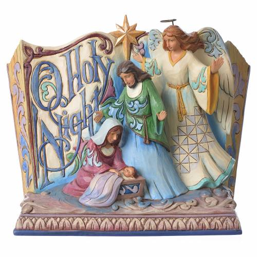 Jim Shore - Song Book Holy Night figurine s1