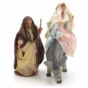 Joseph et Marie enceinte crèche Napolitaine 8 cm s3