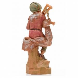 Joueur de musette crèche 17 cm Fontanini s3