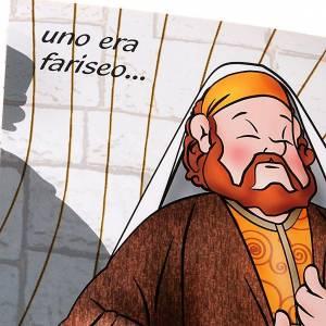 Livres pour enfants: La parabole du pharisien et du publicain ITALIEN