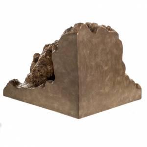 Landi Nativity set with grotto 11cm s10