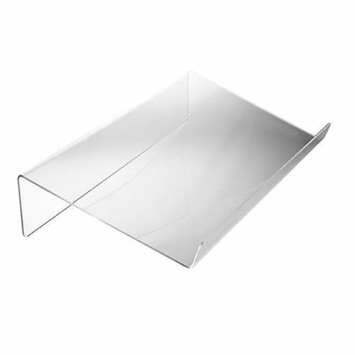 Leggio plexiglass mm 3 stondato s1