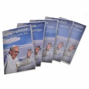 Calendari e altri libri religiosi: Libretto preghiera 5 dita e rosario