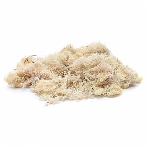 Lichene bianco 100 gr per presepe s2