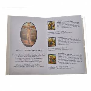 Calendriers et Livres religieux: Livre avec chapelet The Station of The Cross ANGLAIS