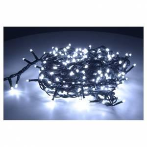 Luce di Natale 300 led bianco ghiaccio per interno s2