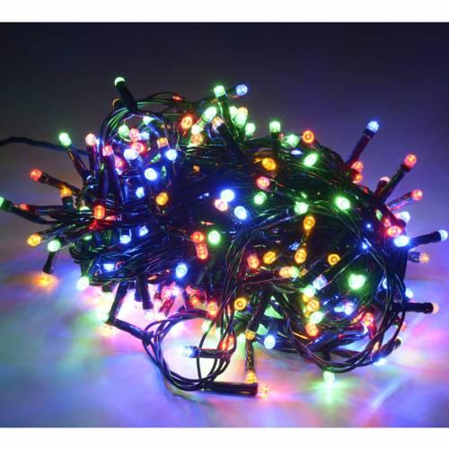 Luce di Natale 300 led multicolor per esterno s2