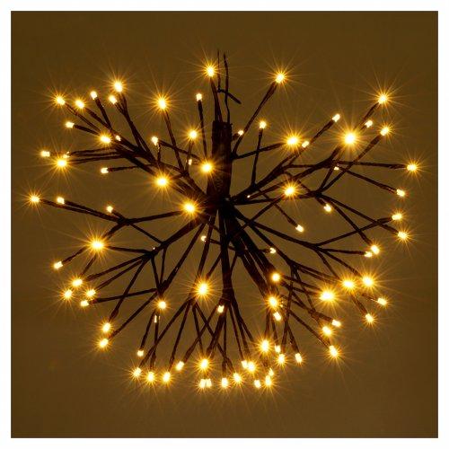 Luce Fuoco Artificio 96 Led Bianco caldo interno esterno s2