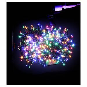 Luce Natale catena 1000 LED multicolore ESTERNO programmabili s2