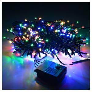 Luces de Navidad: Luces de Navidad, 240 mini LED multicolores, interior exterior