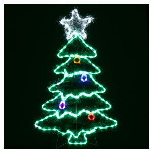 Luz Árbol de Navidad 192 Led interior exterior s2