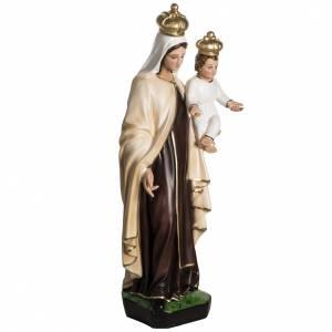 Madonna del Carmelo 60 cm resina s4