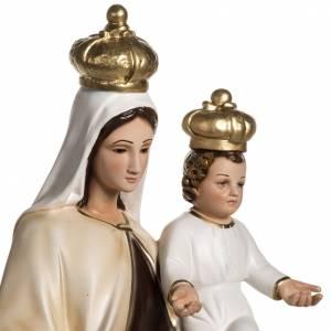 Madonna del Carmelo 60 cm resina s3