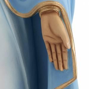 Madonna Miracolosa 80 cm marmo sintetico dipinto s6