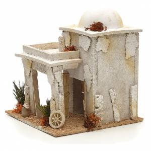 Maison arabe en miniature avec atelier du menuisier s3