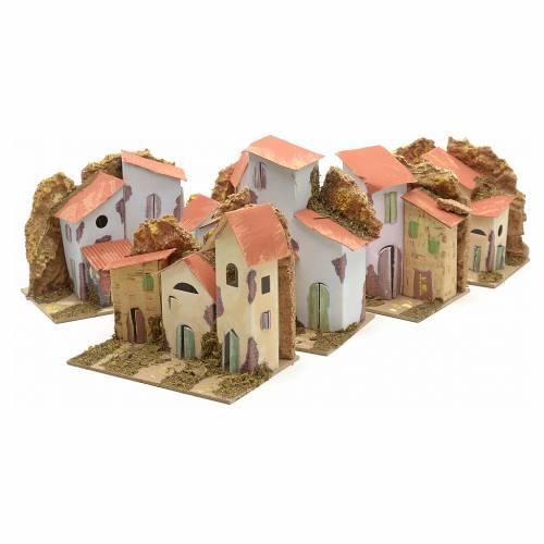 Maison en miniature pour crèche cm 15x10 s6