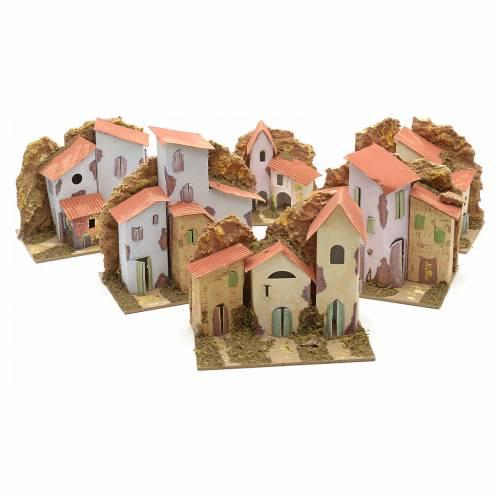 Maison en miniature pour crèche cm 15x10 s5